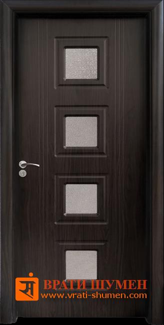 Интериорна HDF врата, модел 021 Венге