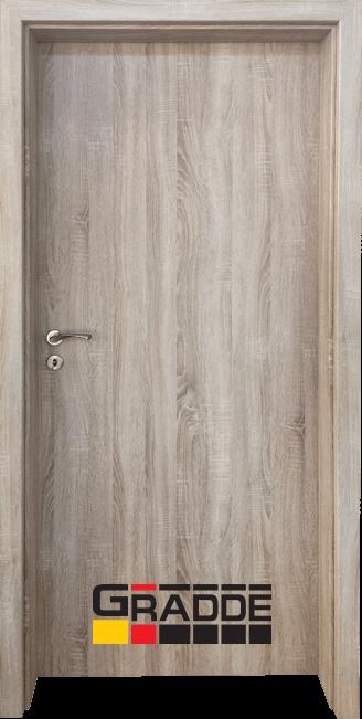 Интериорна HDF врата, модел Gradde Simpel, Дъб Вераде