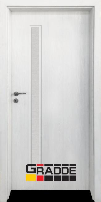 Интериорна HDF врата, модел Gradde Wartburg, Сибирска Лиственица