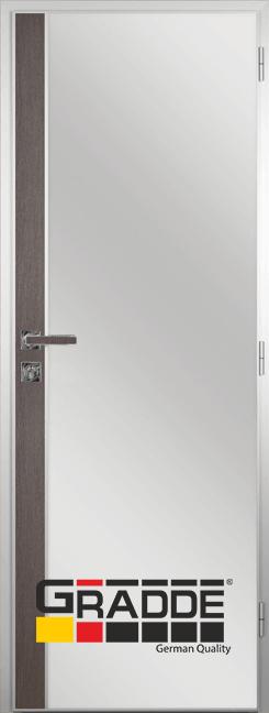 Алуминиева врата за баня с лайсна, Череша Сан Диего