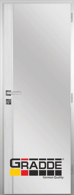 Алуминиева врата за баня с лайсна, Сибирска лиственица