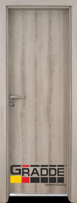 Алуминиева врата за баня – GRADDE цвят Ясен Варалинга