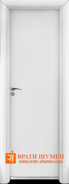 Алуминиева врата за баня, Бял